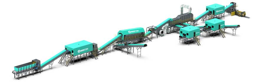 Solid Waste Sorting Machine