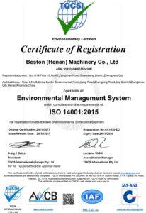 Beston-ISO14001