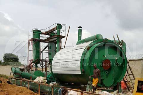 Waste Plastic to Oil Machine for Sale