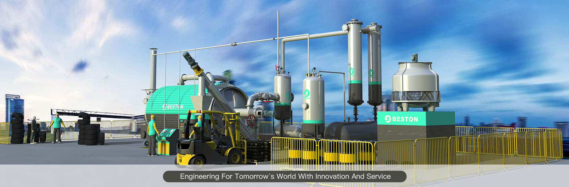 banner-msw pyrolysis plant