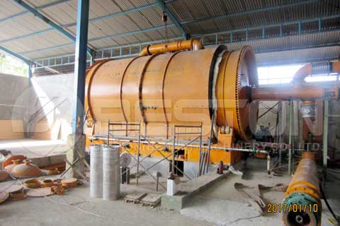 Waste Tyre Pyrolysis Plant for Sale