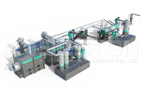 Biochar Production Machine