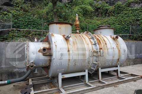 Pyrolysis Oil Plant Project Report