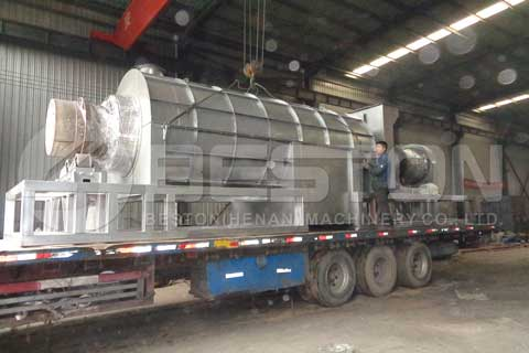 Coconut Shell Charcoal Briquettes Machine