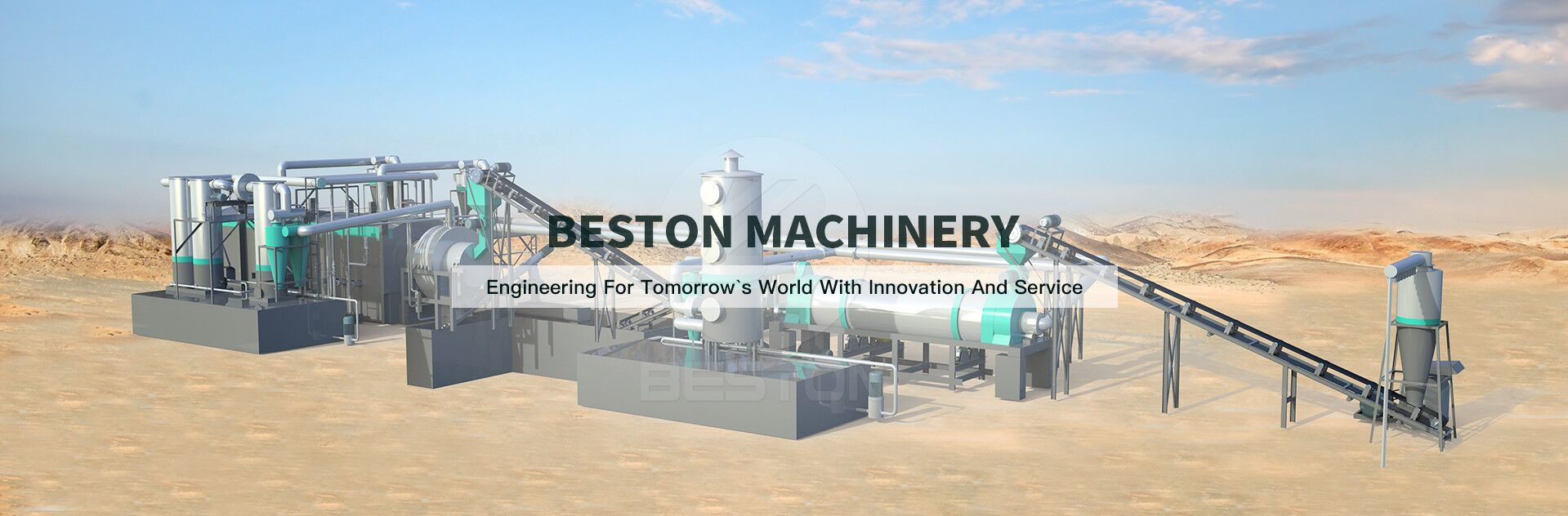charcoal making machine banner