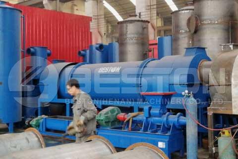 Charcoal Briquettes Machine