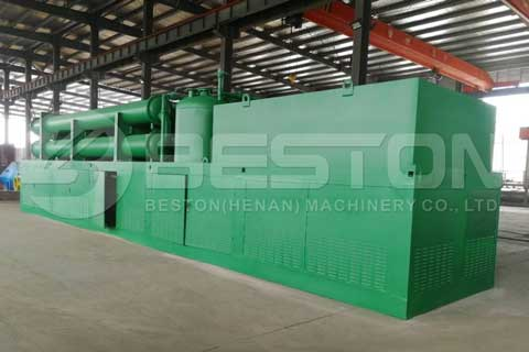 Fully Continuous Pyrolysis Machine