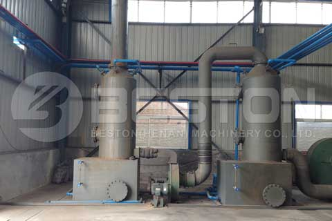 Tyre Pyrolysis Machine Project Report