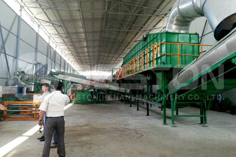 Garbage Recycling Plant