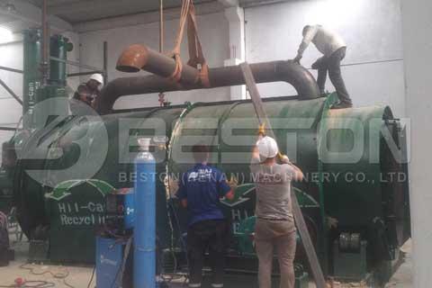 Tyre Pyrolysis Machine in Malaysia