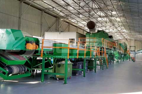 MSW Sorting Plant for Sale 0.5-20T/H - Beston Machinery