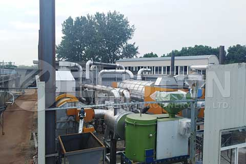 Biomass Pyrolysis Plant for Sale - Biomass to Energy - Beston