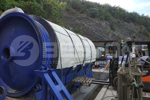 Plastic to Oil Machine for Sale - Waste Plastic to Oil Plant