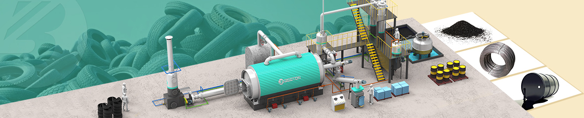 Waste Tyre Pyrolysis Plant Project Report - Pyrolysis Oil