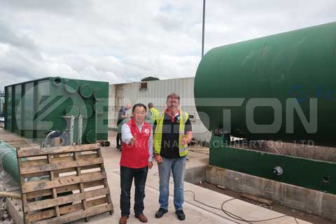 Pyrolysis Plant in UK