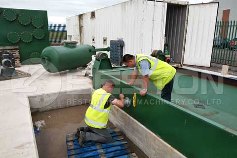 Tyre Pyrolysis Plant in the UK