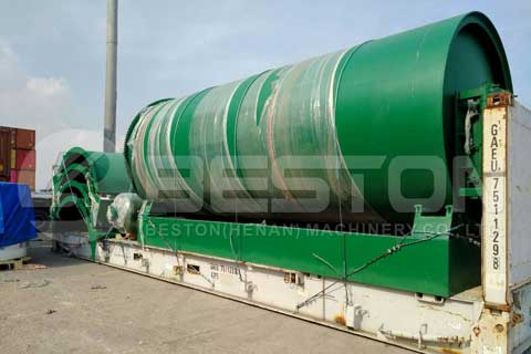 Rubber Pyrolysis Plant for Sale