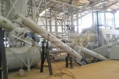 Tyre Pyrolysis Plant in Brazil