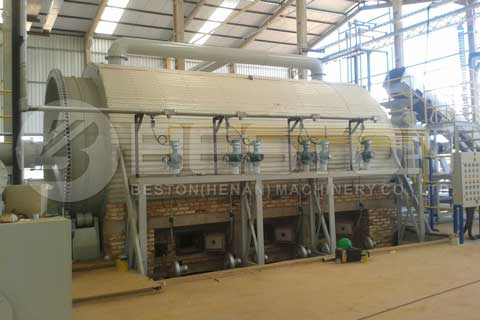 Tyre Pyrolysis Plant in Brazil