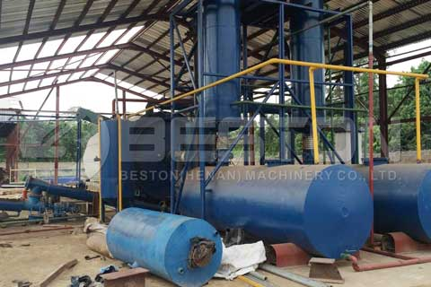Oily Sludge Pyrolysis Plant