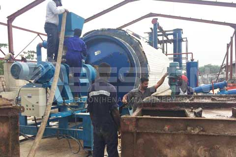 Oil Sludge Pyrolysis Plant in Nigeria