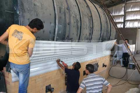 Waste Tyre Recycling In Jordan
