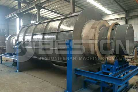 Rice Husk Charcoal Briquettes Machine