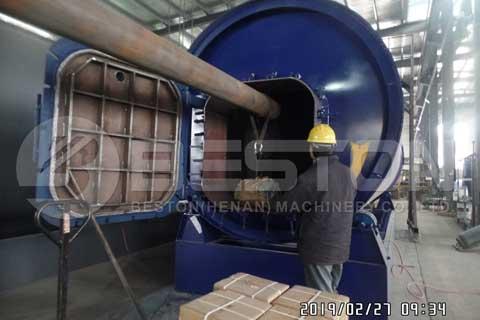 Pyrolysis Equipment Shipped to Uganda