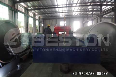 Pyrolysis Plant Shipped to Uganda