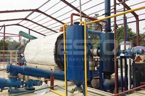 Oil Sludge Treatment Plant
