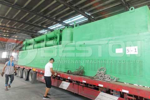 Continuous Plastic Pyrolysis Plant Design