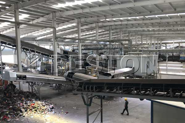 Waste Segregation Plant
