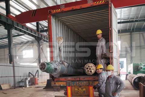 Waste Pyrolysis Machine
