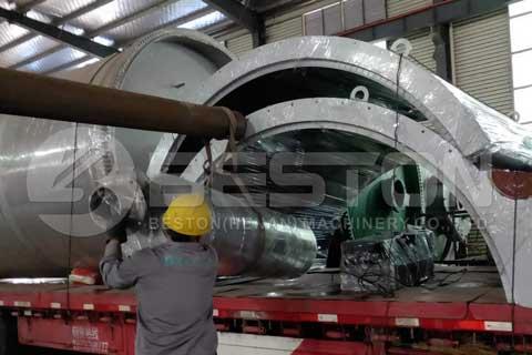 Tyre Pyrolysis Plant in Romania