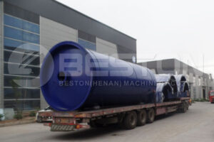 Beston Tire Pyrolysis Machine Shipped to South Korea