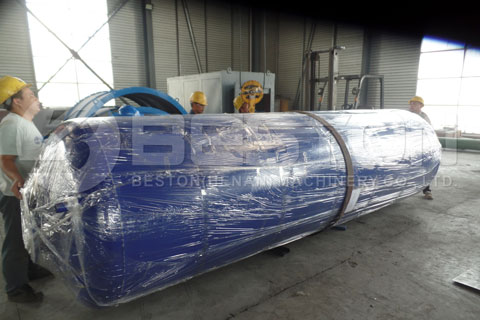 Shipment of Waste Tire Pyrolysis Plant
