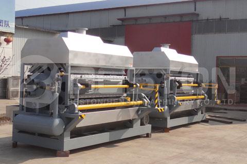 Egg Tray Making Machine Shipped to Egypt