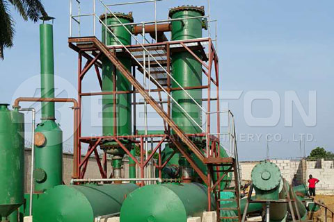 Installation of Beston Pyrolysis Plant was Finished in Nigeria