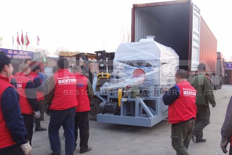 Paper Egg Tray Machine Shipped to Egypt