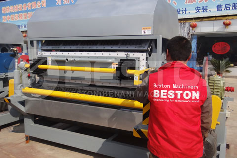 Paper Egg Tray Making Machine Shipped to Egypt