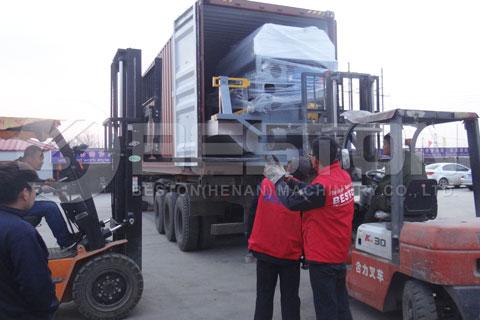 Shipment Preparation of Beston Machine to Egypt
