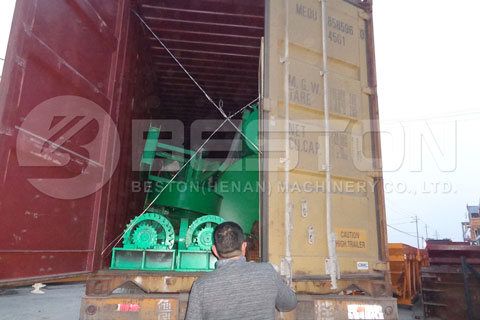 Shipment of Charcoal Manufacturing Plant