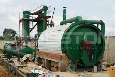 Waste Pyrolysis Plant Installed in Negeria