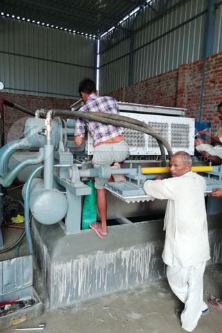 BTF-4-4 Pulp Egg Tray Making Machine in India