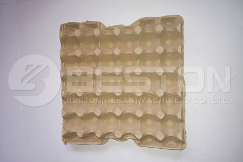 Paper Egg Tray Made by Pulp Molding Machine
