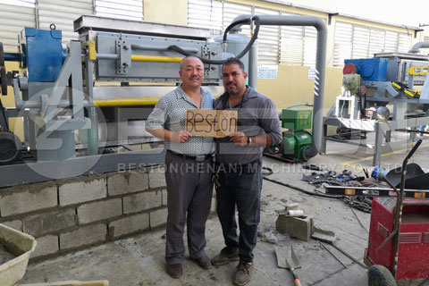 Pulp Moulding Plant installed in Dominica