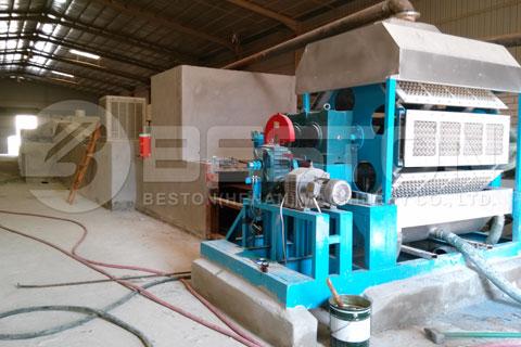 BTF-4-8 Automatic Egg Tray Making Machine in Saudi Arabia