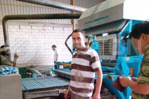BTF-4-8 Automatic Paper Egg Tray Machine in Saudi Arabia