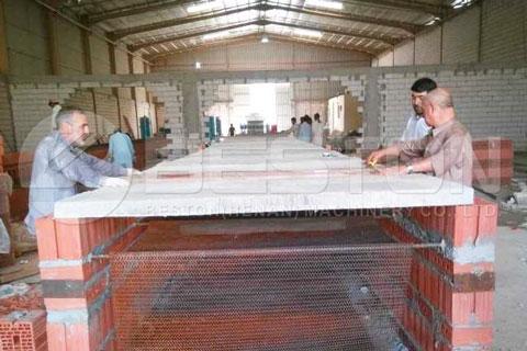 Installation of Beston Automatic Paper Egg Tray Making Machine in Saudi Arabia