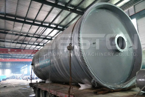 Shipment of Semi-continuous Pyrolysis Plant